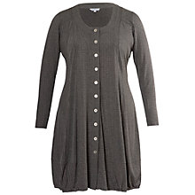 Buy Chesca Studded Melange Panel Cardigan, Grey Online at johnlewis.com