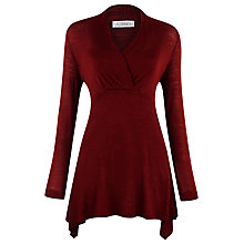 Buy Kaliko Wool Blend Tunic, Red Online at johnlewis.com