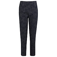Buy Kaliko Lace Jaquard Trousers, Grey Online at johnlewis.com