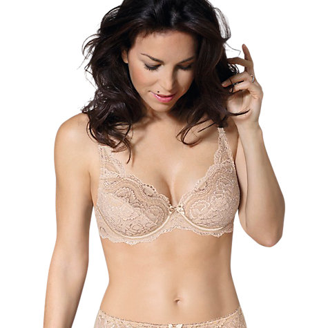 Buy Playtex Flower Lace Underwire Non Padded Bra Online at johnlewis.com
