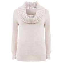 Buy Mint Velvet Rib Collar Knit Jumper Online at johnlewis.com