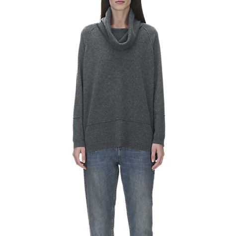 Buy Whistles Ettie Cashmere Cowl Neck Jumper Online at johnlewis.com