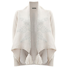 Buy Mint Velvet Snowflake Tassel Cardigan, Multi Online at johnlewis.com