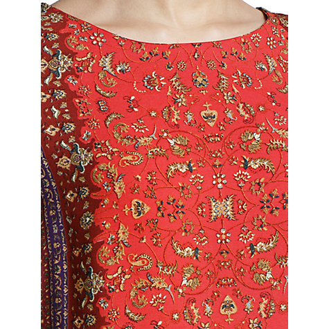 Buy Mango Scarf Print Shift Dress Online at johnlewis.com