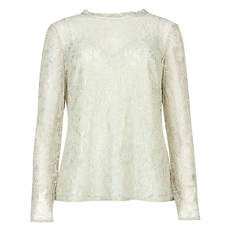 Buy Ted Baker Nomino Long Sleeve Top Online at johnlewis.com