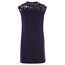 Buy Coast Willow Dress, Grape Online at johnlewis.com