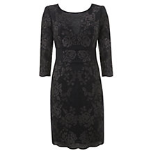Buy Mint Velvet Metallic Shift Dress, Blue Online at johnlewis.com