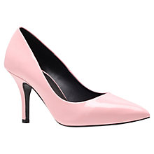 Buy KG by Kurt Geiger Bastille Patent Court Shoes, Pale Pink Online at johnlewis.com