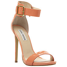 Buy Steve Madden Marlenee Sandals, Coral Online at johnlewis.com