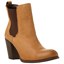Buy Steve Madden Lambii SM Ankle Boots, Tan Online at johnlewis.com