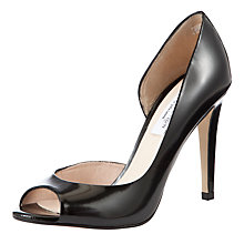 Buy COLLECTION by John Lewis Kayek Peep Toe D'Orsay Court Shoes, Black Online at johnlewis.com