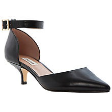 Buy Dune Candelabra Leather Cutaway Court Shoes Online at johnlewis.com