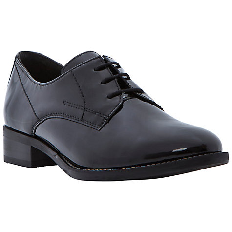 Buy Dune Lima Brogue Shoes, Black Online at johnlewis.com