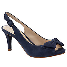 Buy Unisa Ordil Suede Slingback Court Sandals Online at johnlewis.com