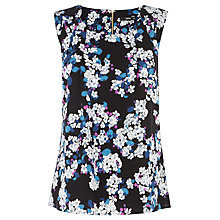 Buy Oasis Blossom Shell Top, Multi Online at johnlewis.com