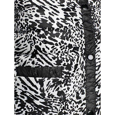 Buy Mango Printed Shirt Coat, Black Online at johnlewis.com