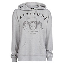 Buy Mango Attitude Cotton Hoodie Online at johnlewis.com