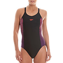 Buy Speedo Endurance Racerback Swimsuit Online at johnlewis.com