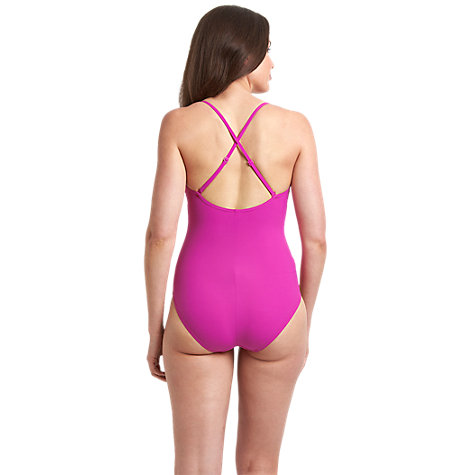 Buy Speedo Women's Spashine 1 Piece Swimsuit, Pink Online at johnlewis.com