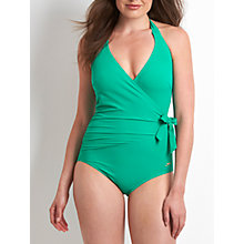 Buy Speedo Simply Glow Swimsuit, Green Online at johnlewis.com