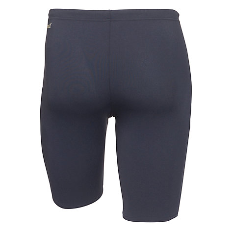 Buy Speedo Endurance+ Monogram Aquashort Swim Shorts, Navy/Yellow Online at johnlewis.com