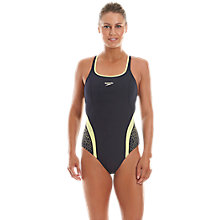 Buy Speedo Endurance Pinnacle Kickback Swimsuit Online at johnlewis.com