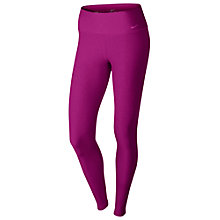 Buy Nike Legend Running Tights, Pink Online at johnlewis.com