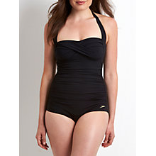 Buy Speedo Crystalsun Sculpture 1 Piece Swimsuit, Black Online at johnlewis.com