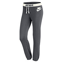 Buy Nike Rally Slim Fit Sweatpants, Grey Online at johnlewis.com