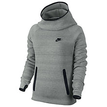 Buy Nike Women's Tech Fleece Hoodie, Grey Online at johnlewis.com