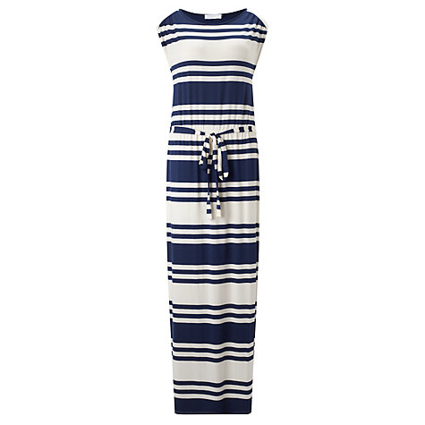 Buy Collection WEEKEND by John Lewis Stripe Maxi Dress, Navy/White Online at johnlewis.com