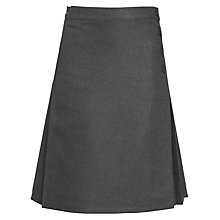 Buy John Lewis Girl's School Wrap Around Kilt Online at johnlewis.com