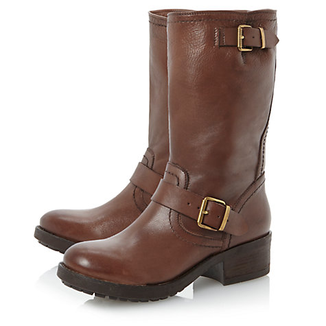 Buy Bertie Rosamund Calf Boots Online at johnlewis.com