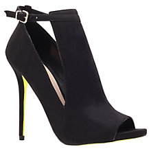 Buy Carvela Glance Stiletto Heeled Court Shoes, Black Online at johnlewis.com