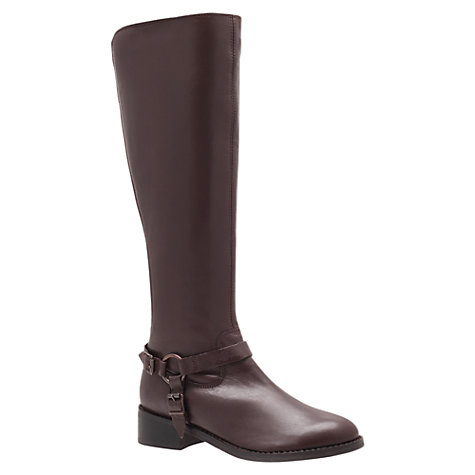 Buy Carvela Petra Leather Knee Boots Online at johnlewis.com