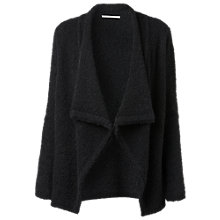 Buy Gérard Darel Curly Wool Cardigan, Black Online at johnlewis.com