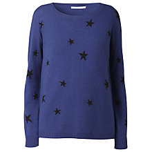 Buy Gérard Darel Star Print Jumper, Blue Online at johnlewis.com