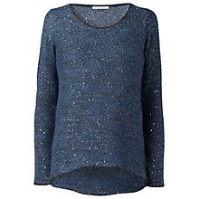 Buy Gérard Darel Sequined Jumper, Blue Online at johnlewis.com