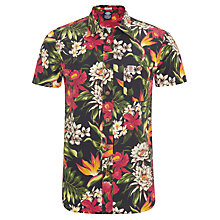 Buy Franklin & Marshall Tropical Floral Print Shirt, Multi Online at johnlewis.com