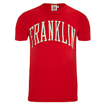 Buy Franklin & Marshall Logo T-Shirt, Red Online at johnlewis.com