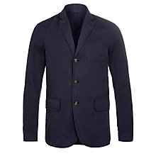 Buy Polo Ralph Lauren Langley Cotton Blazer, Aviator Navy Online at johnlewis.com