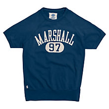 Buy Franklin & Marshall Logo T-Shirt, Navy Online at johnlewis.com