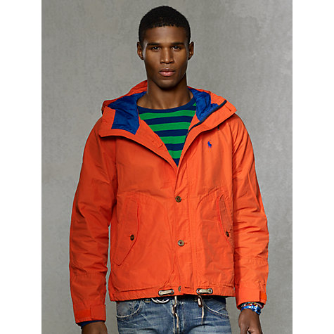 Buy Polo Ralph Lauren Tree Line Anorak Online at johnlewis.com