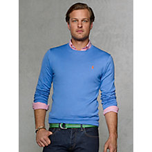 Buy Polo Ralph Lauren Pima Cotton Slim Fit Jumper Online at johnlewis.com