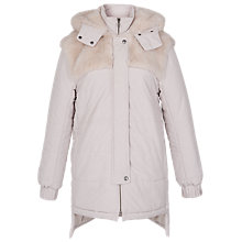 Buy French Connection Bunny Quilted Coat, Snowball Online at johnlewis.com