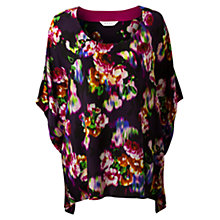 Buy East Ketana Print Kaftan, Purple Online at johnlewis.com