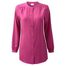 Buy East Nehru Long Shirt, Orchid Online at johnlewis.com