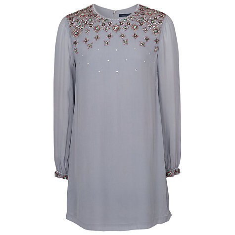 Buy French Connection Ceres Crystal Tunic Dress, Morning Dew Online at johnlewis.com