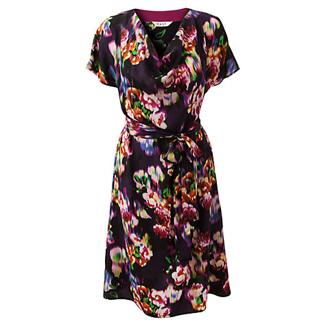 Buy East Ketana Cowl Neck Dress, Purple Online at johnlewis.com