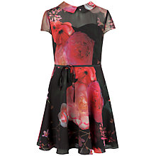 Buy Ted Baker Eudorra Dress, Black Online at johnlewis.com